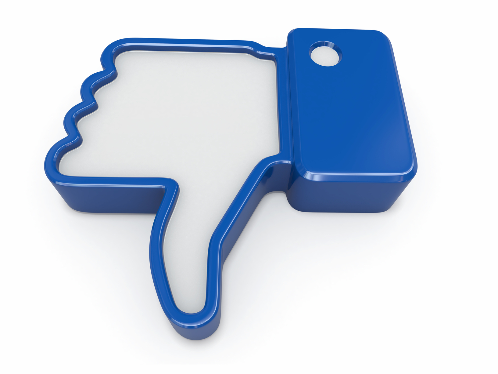 Dislike. Thumb down sign